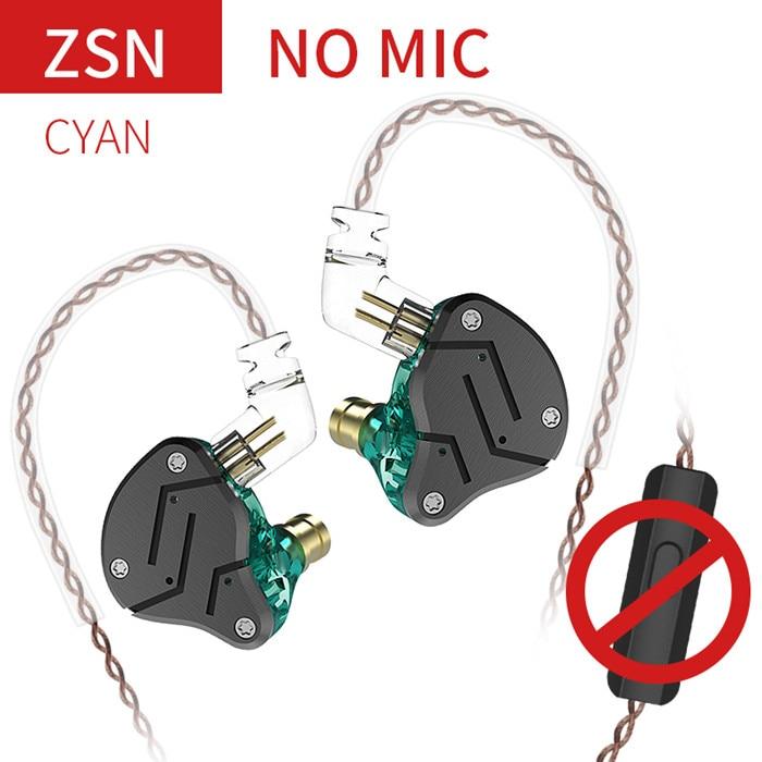 ZSN Cyan No Mic
