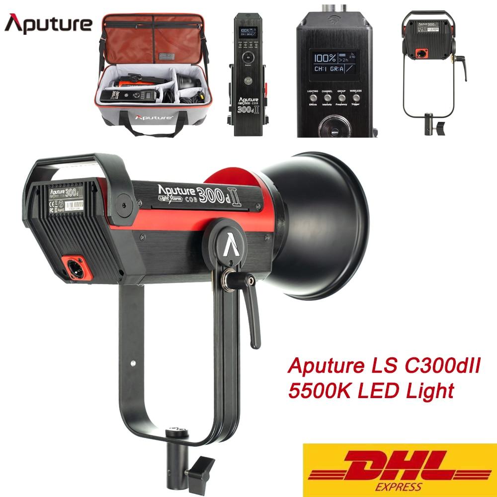 Aputure LS C300dII 5500K LED COB Light Daylight Bowens Mount Photography Lighting Lamp 300d II Outdoor Studio Video Light