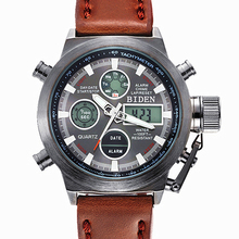 Reloj Hombre 2016 Часы мужчины luxury brand Спорт погружения 50 м ВЕЛА Военные часы Оригинальные кварцевые мужские часы Часы montre homme 3003
