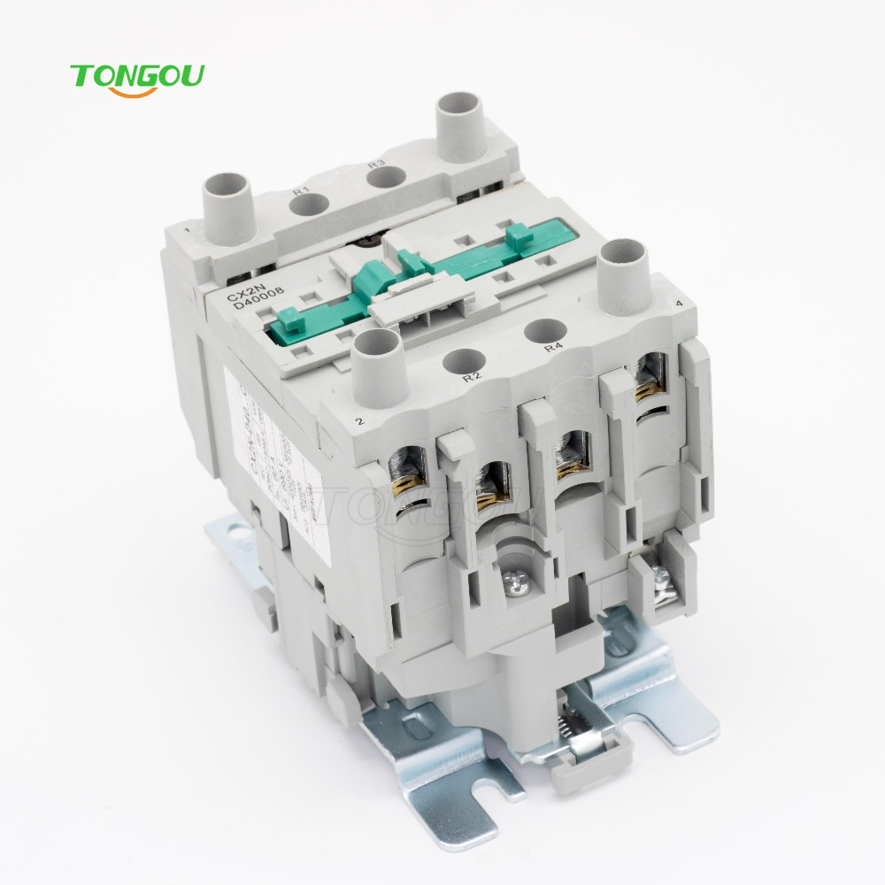 AC 220V 40A Contactor CJX2 Type LC1 D40008 50HZ/60HZ gmc 220 ac electromagnetic contactor brand new
