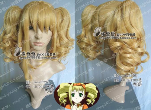 Free Shipping Black Butler Kuroshitsuji Elizabeth New Cosplay Wig Pretty Style Full Wig Hair In Party Hats From Home Garden On Aliexpress Com Alibaba