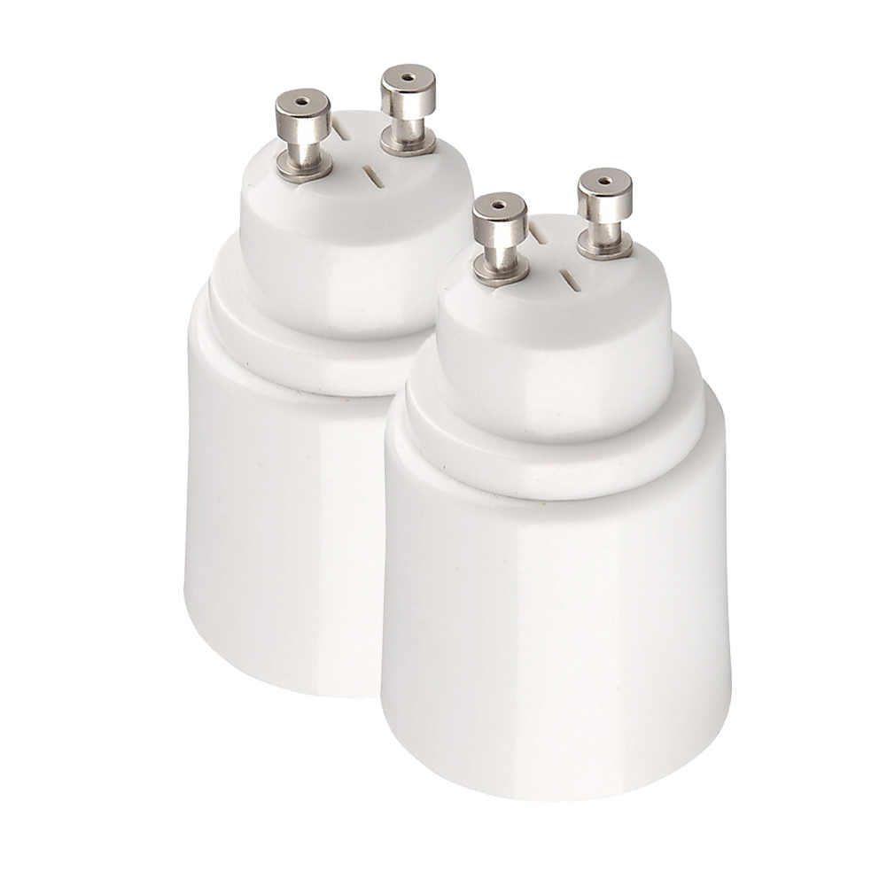 GU10 Male to E27 Female Base Light Lamp Bulbs Adapter