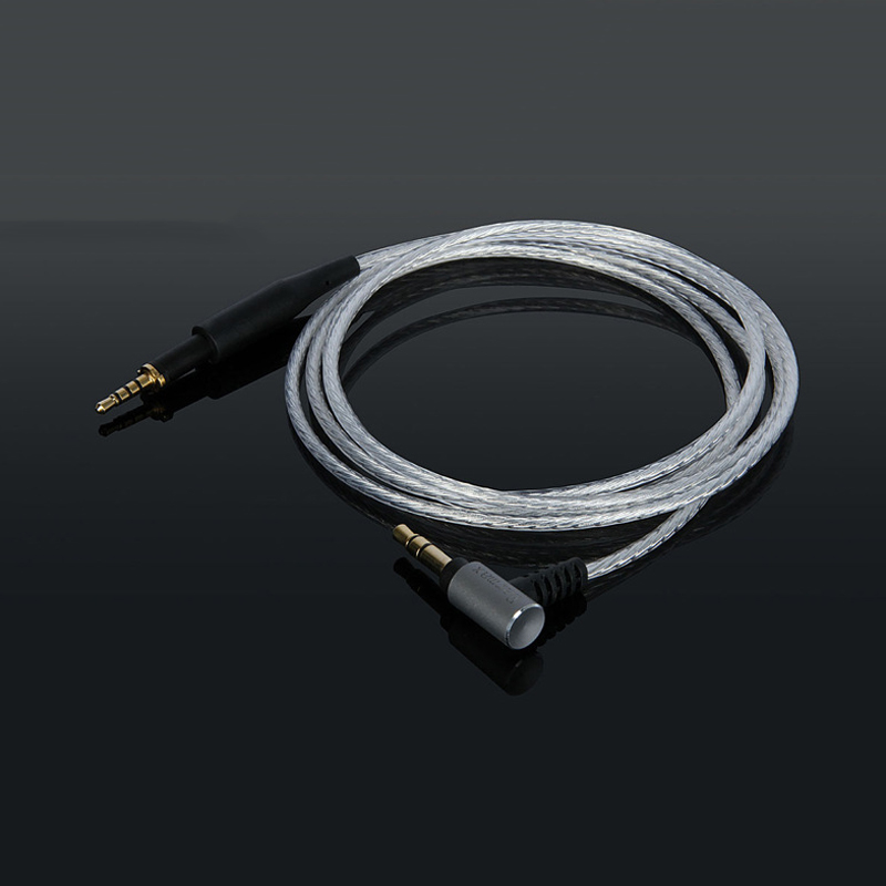 Replacement Cable For AKG K450 K451 K452 Q460 K480 Headphone Earphone Headset 3.5mm To 2.5mm Silver Plated Audio Cables