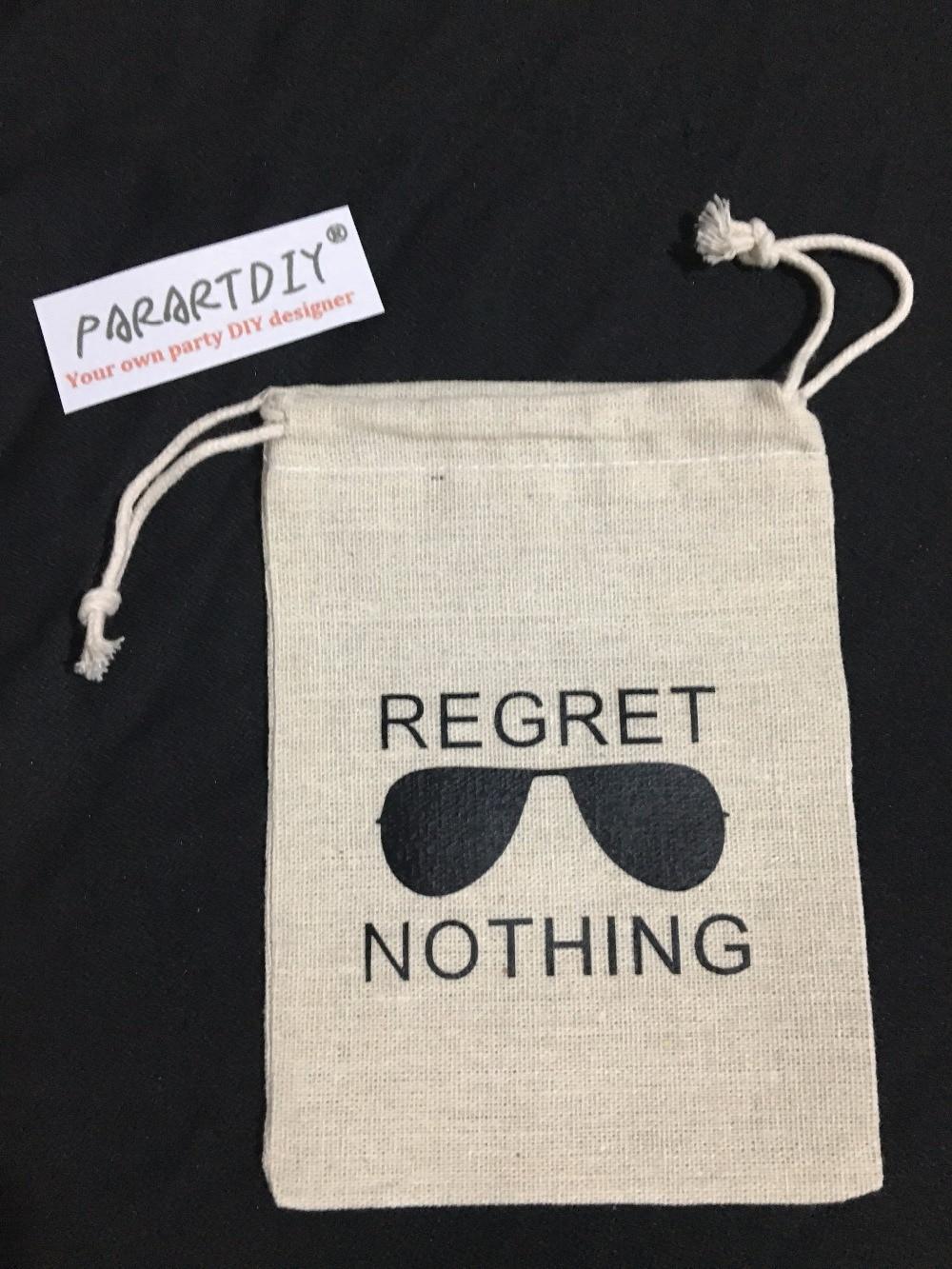 Personalized Regret Nothing Bachelorette Hangover bridal shower ...