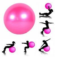 65 cm Fitness Yoga Topu Pompası Ile Pürüzsüz Denge Fitness Salonu Egzersiz Pilates profesyonel Yoga Egzersiz Topu CrossFit