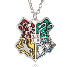 Popular college pendants buy cheap college pendants lots from china hot sale movie hogwarts badge pendant necklace magic college badge necklace vintage enamel necklace for womenmen 24pcslot mozeypictures Image collections