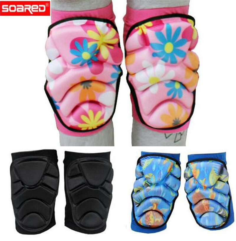 SOARED Men Women Boy Girl Safety Protection Knee Pads Protector Kneecap Kneepads for Scooter Cycling Roller Skating Skiing