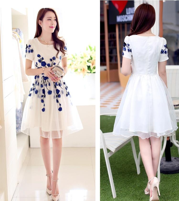 Aliexpress.com : Buy New Designed Sweet A Line Prom Dresses O Neck ...