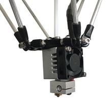 Set sale 2017 Newest auto leveling  reprap  k200 delta single extruder 3D printer heat bed ,adding open source DIY 3D scanner