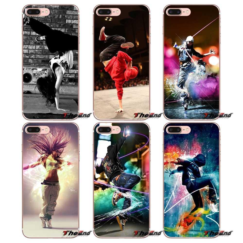 Для iPhone X 4 4S 5 5S 5C SE 6 6S 7 8 плюс samsung Galaxy J1 J3 J5 J7 A3 A5 2016 2017 в стиле «хип-хоп» Танцы Break Танцы чехол