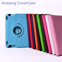 Free Shipping 360 Degree Rotating PU Leather Case Cover For Samsung Galaxy Tab 2 10 1