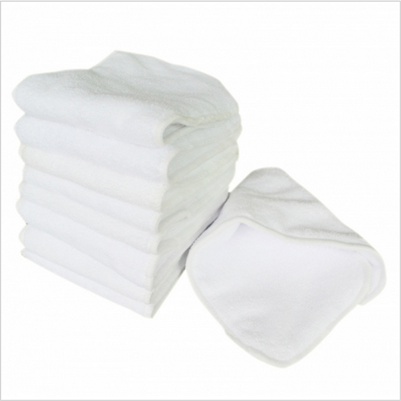 5Pcs/lot New Reusable and Easy Use Soft and Breathable Baby Modern Cloth Diaper Nappy Liners Inserts