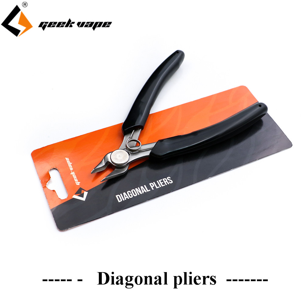 Geekvape Diagonal pliers e cigarette tool DIY vape make wire Electrical Wire Cable Cutters Cutting Side Snips Point