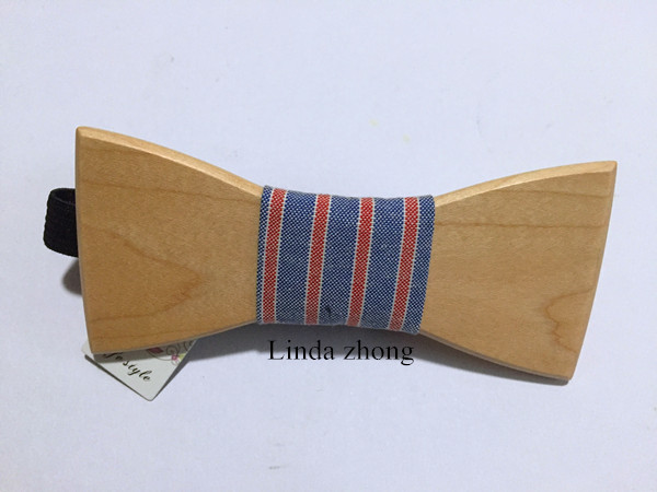 wood Bow Tie Wood Bow Tie Weaves Mens Bowtie Butterfly TieBow Tie And Handkerchief Set Christmas Gift wedding tie sets