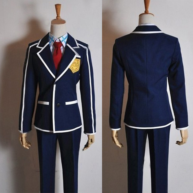 Generous Anime Sword Art Online Kirigaya Kazuto Cosplay Costume Japanese School Uniform Full Set Coat+shirt+tie+pants Curing Cough And Facilitating Expectoration And Relieving Hoarseness Home