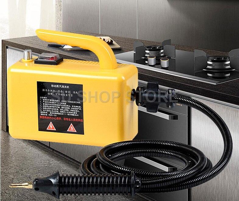 Haute température haute pression Mobile Machine de nettoyage nettoyeur à vapeur automatique pompage stérilisation désinfecteur 2600 W 1.8 M