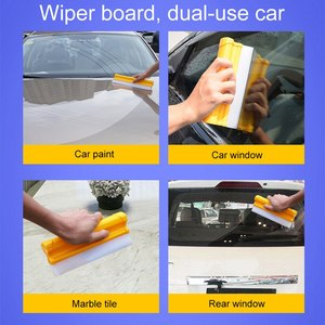 Image 3 - 20cm Silicone Wiper Board Light And No Noise Soft Does Not Hurt Car Paint Car Wash Wiper Window Cleaning