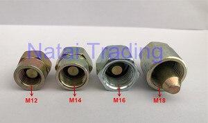 Image 2 - 무료 배송! 커먼 레일 파이프 씰링 용 고압 커먼 레일 파이프 플러그 M12, M14, M16 및 M18