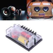 2 шт. автомобильный 2-канальный аудио динамик, разделитель частоты, аудио динамик, НЧ-динамик, волновой фильтр 200 Вт, кроссовый фильтр, запчасти для авто