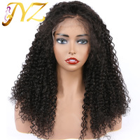 Kinky Curly Human Hair Wigs For Black Women Natural Color Lace Front Wig Brazilian Lace Wigs Frontal Pre Plucked Hairline