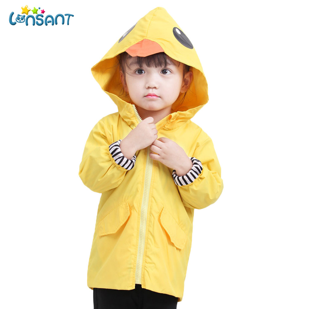 LONSANT Hooded Coat Girls Babys Warm Boys Kids Unisex Infant Cartoon Tops Cloak Animal