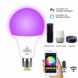 4pc E27 Smart WIFI Bulb RGB RG