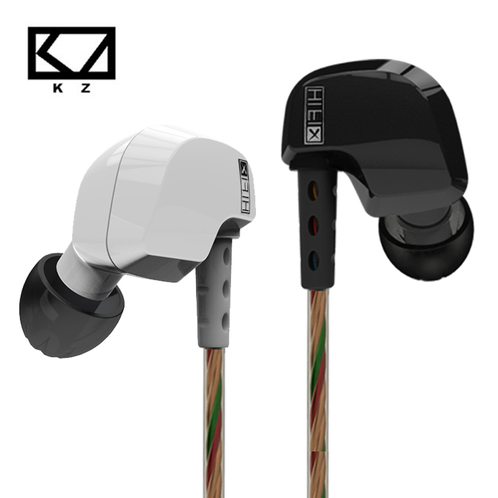 KZ HD9 Earphones HiFi Sport Earbuds Copper Driver Earhook ear type Headphones In Ear Running Headset For Running With Microphone new kz zs3 in ear headphones stereo headset ear hook running sport earphone noise cancelling earbuds headphones with microphone