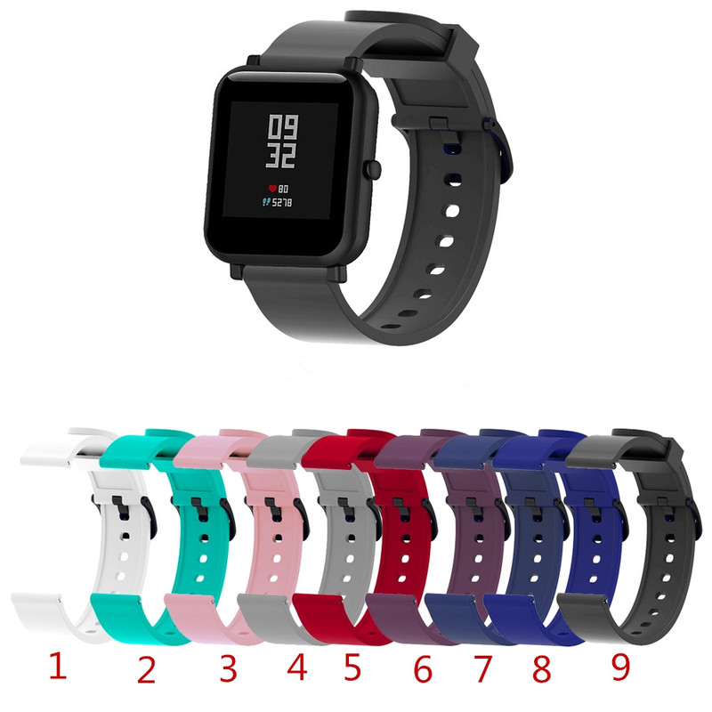 Bracelet Strap Smart-Accessories-Strap Amazfit Bip Silicone Waterproof Original Replacement
