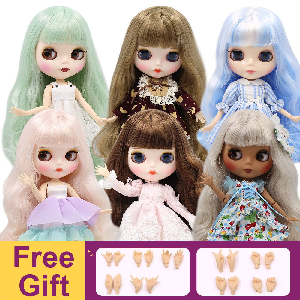 ICY Factory Blyth Doll Joint Body DIY BJD Toys 30cm 1/6 Fashion Dolls Girl Gift Special Offer On Sale