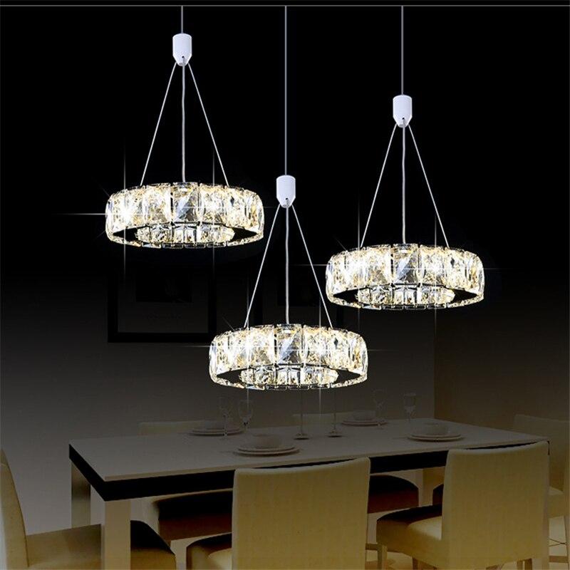 2019 Luxury silver garden crystal LED chandelier K9 crystal led light / led gloss lamp / fixture modern LED chandelier lighting - 2