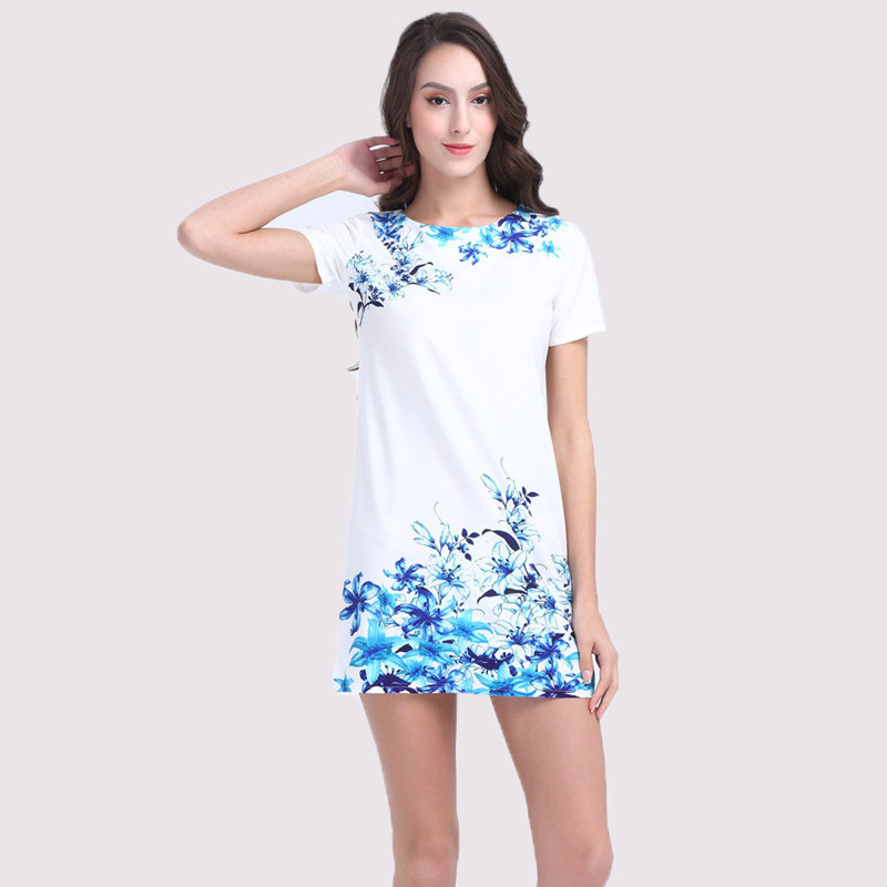 Short Sleeve Summer Dress Promotion-Shop for Promotional Short ...