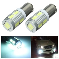 2 Pcs Universal BA9S 10SMD  6000k Car LED Sidelight Bulbs Canbus Error Free Signal light Car Styling Accessories New