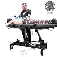 Высший сорт электрический татуировки кроватью Электрический тату кровать Электрический Лифт кровать jiaxing тонкой резьбой татуировки equipment0
