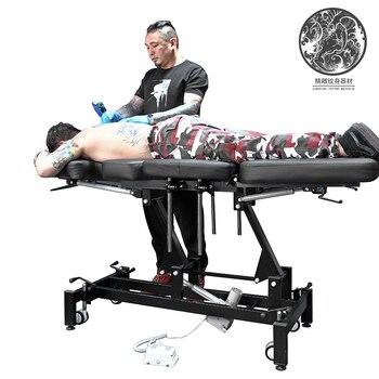 Grado superiore elettrico letto tatuaggio elettrica del tatuaggio tatuaggio letto di sollevamento elettrico letto jiaxing multa scultura del tatuaggio equipment0