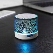 Protable Mini bluetooth Speaker LED Music Sound Box with Bluetooth Column Home Speaker Hoparlor Support TF Card Music player