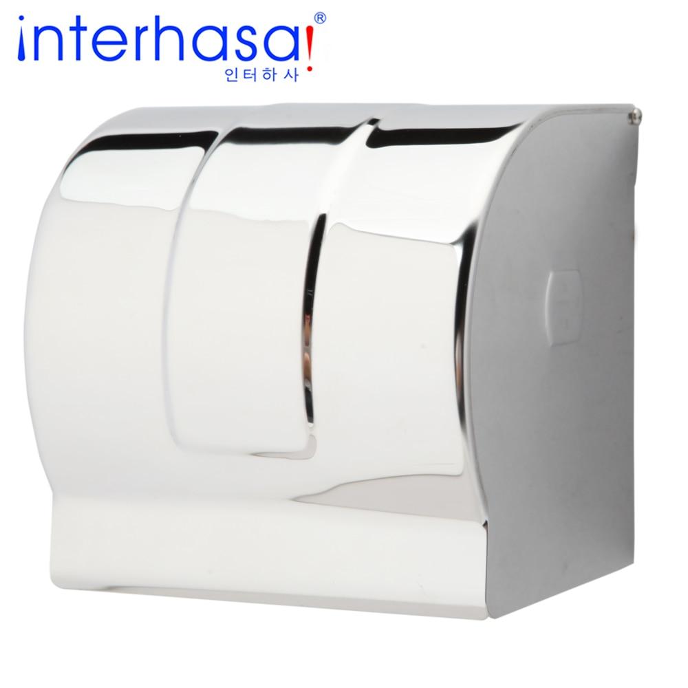 Waterproof Wall Mounted Toilet 304 Stainless Steel Tissue