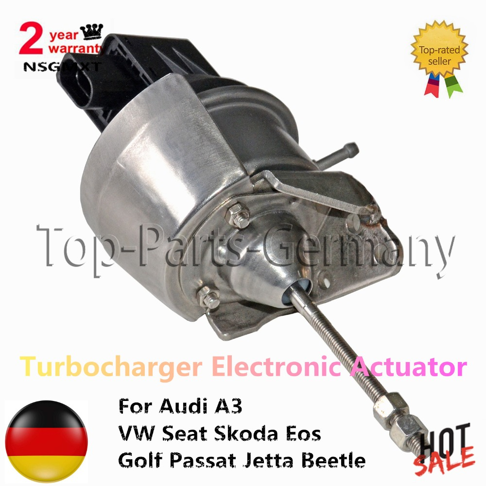 Turbocharger Electronic Actuator For Audi A3 VW Seat Skoda Eos Golf Passat Jetta Beetle 2.0TDI 103KW 140HP KKK 03L198716A high quality kkk turbo core bv39 54399880006 54399700006 for audi a3 seat skoda volkswagen turbocharger rebuild kit