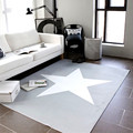 150X200CM Brief Star Carpets For Living Room Home Bedroom Rugs And Carpets Coffee Table Modern Area Rug Children Play Game Mat