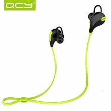 QCY QY7 Bluetooth V4.1 Inalámbrico HD Auriculares Ergonómicos En El Auricular Del Oído Con el Mic Para el iphone Sweatproof Deportes Auriculares