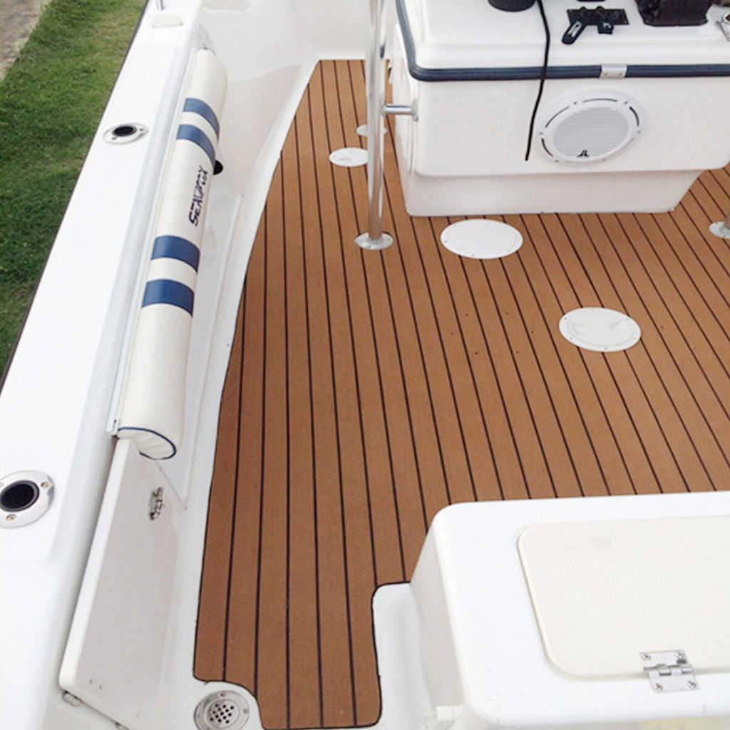 Suelo de barcos marinos autoadhesivo, yate de espuma EVA, lámina antideslizante para cubierta de teca, almohadilla para alfombra de coche RV, accesorio para yates de 240x45cm