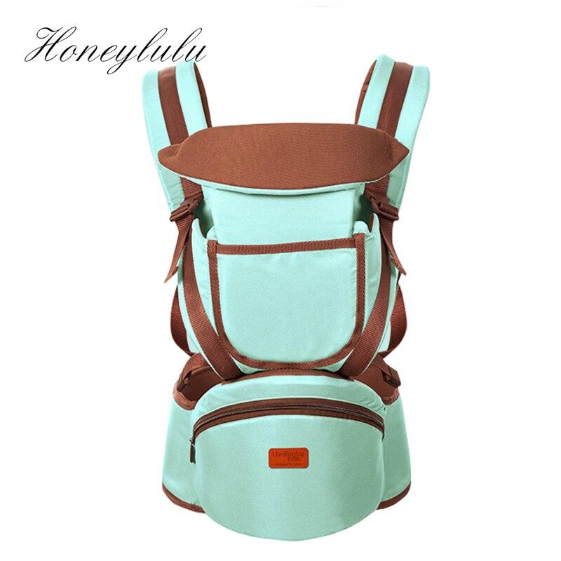 Honeylulu Baby Carrier Four Seasons Detachable Backplane Storage Sling For Newborns Kangaroo For Baby Ergoryukzak Sling Hipsit