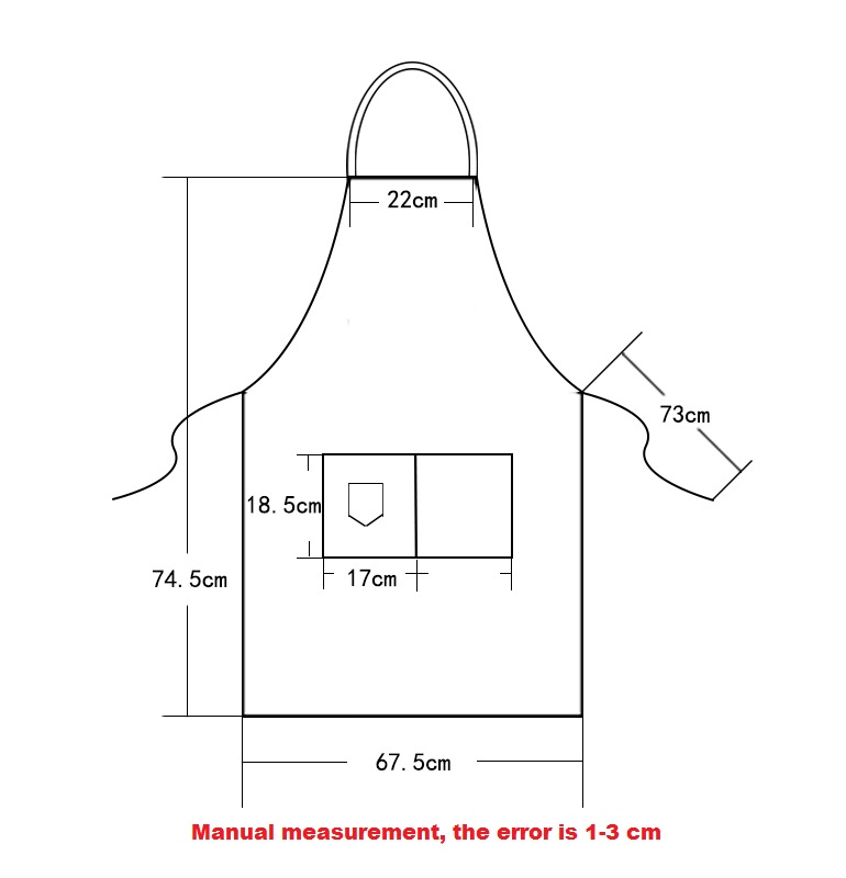 Image 4 - New Fashion Canvas Cotton Apron Coffee Shop And Barber Working Apron Bib Cooking Kitchen Aprons For Woman Man Apron Custom Logo-in Aprons from Home & Garden