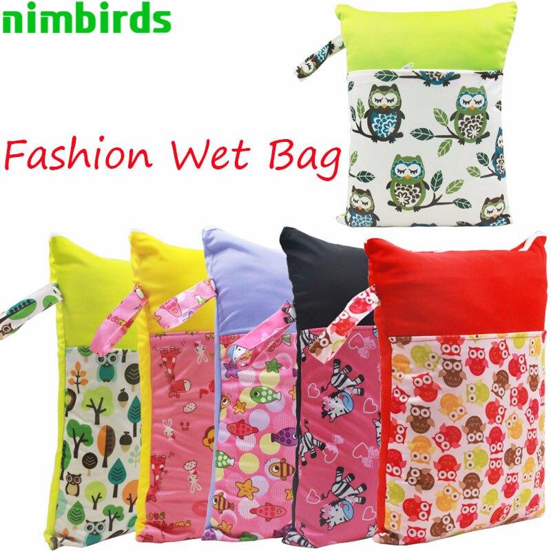 30x40cm Zmywalne torby na pieluchy dla niemowląt Nappy wielokrotnego - Pieluchy i Trenowanie toalety - Zdjęcie 1