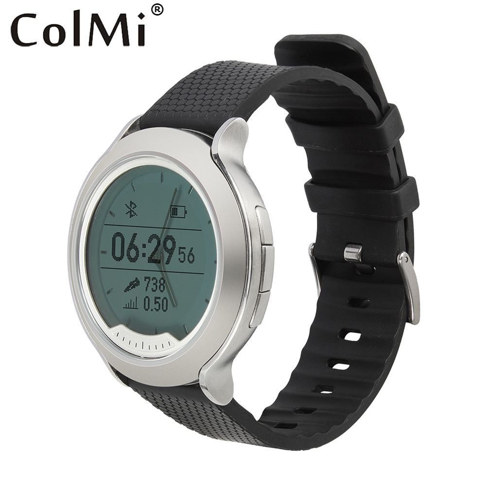 ColMi Smart Watch New Heart Rate Monitor Pedometer Charging Wristwatch Swimming Waterproof LED Alarm Clock for Men Women Casual цена и фото