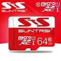 Suntrsi microsd capacidade real cartão micro sd 32 gb classe 10 de alta velocidade 64 gb 32 gb cartão micro sd de 16 gb para celulares câmeras microsd