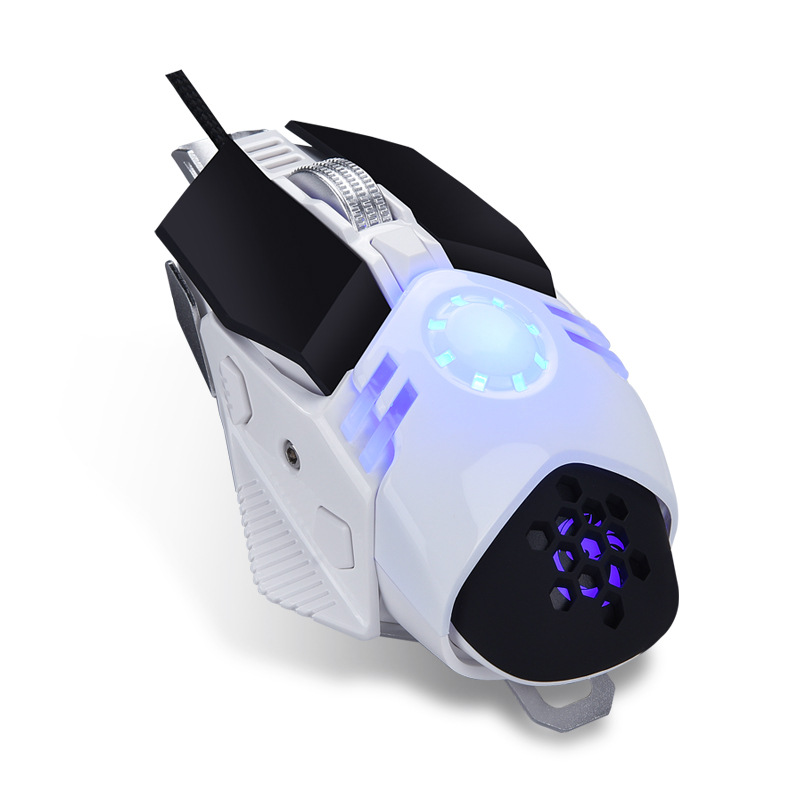 AOYEAH Professional Gaming Mouse 6 buttons USB Optical Computer Mice Programmable mause for PC LOL Overwatch Game Mouse Gamer