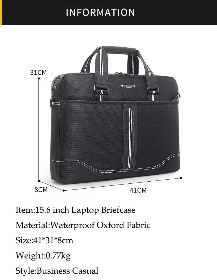 HTB1CsUAaMaH3KVjSZFjq6AFWpXaQ Business Oxford Men Briefcase 15.6 inch Laptop Handbags Men's Office Bags Multifunction Messenger BagComputer Work Bag