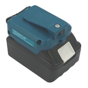 Image 4 - ADP05 לקיטה BL1430 BL1440 BL1830 BL1840 USB טעינת מתאם ממיר כלים סוללות חשמל בנק לחייב את טלפון Ipad