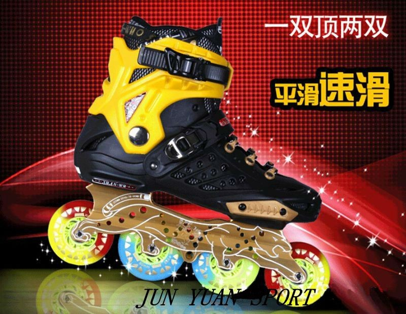 Free shipping roller skates frame speed skates frame two-function 255mm 3x90 3x100 3x110 4x80mm цена и фото