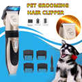 Pet Grooming Hair Clipper USB Rechargeable Cordless Dog Cat Rabbit Hair Trimmer Cutter Kit